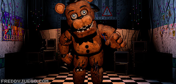 Freddy Fazbear de Five Nights at Freddy's 2